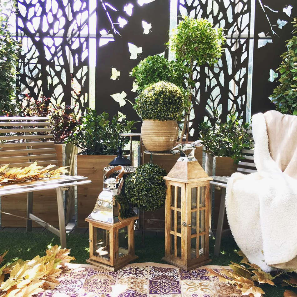 Espace décoration de la jardinerie Jaïa Balaruc-le-Vieux