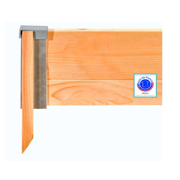 Bordures en bois