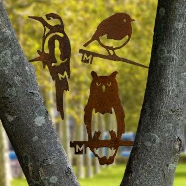 Oiseaux en acier METALBIRD