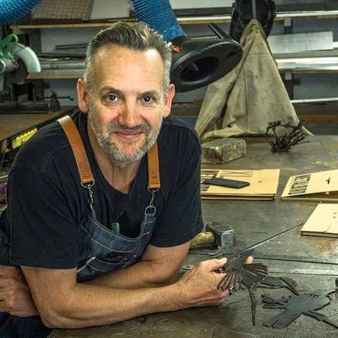 Phil Waters, créateur de METALBIRD