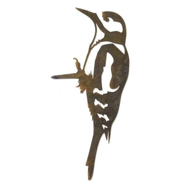 Oiseau en métal Pic épeiche