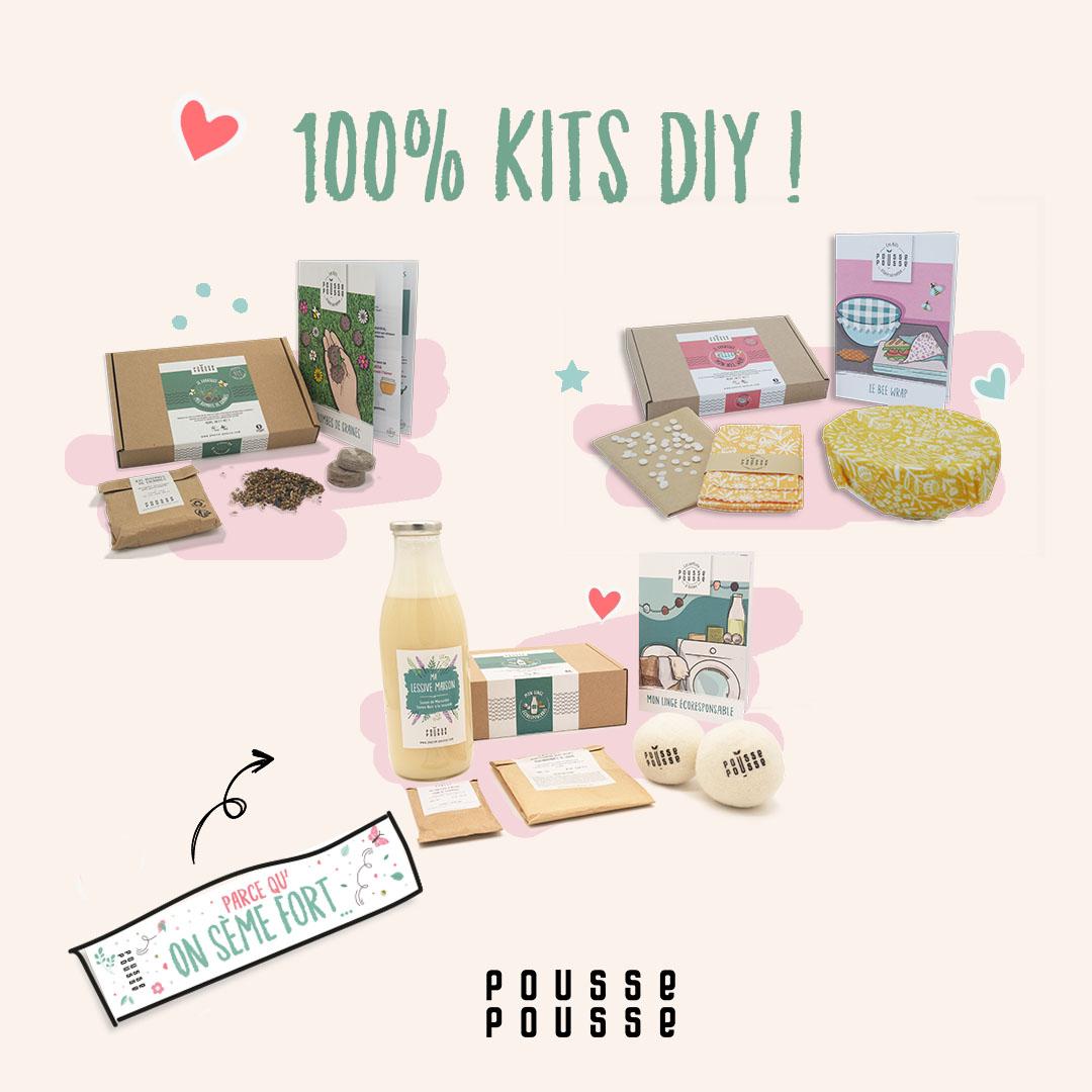 Les kits Do It Yourself Pousse Pousse