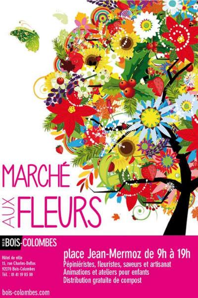 Marché aux Fleurs de Bois-Colombes
