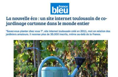 FRANCE BLEU - Un site internet de cojardinage cartonne dans le monde entier
