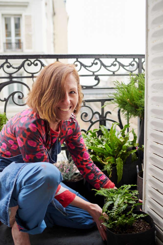 Isabelle Aumont d'Un Balcon en Ville