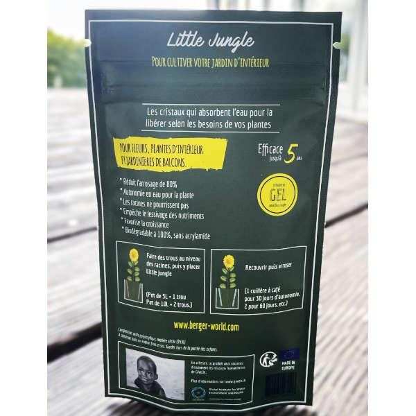Notice illustrée pour utiliser Little Jungle