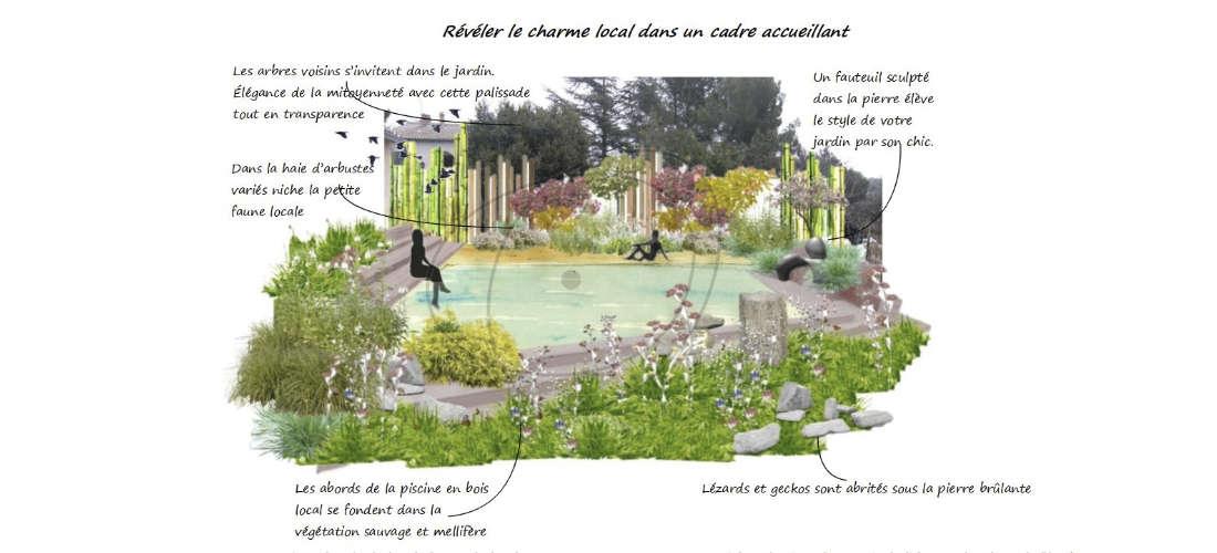 Réalisation d'un jardin aquatique